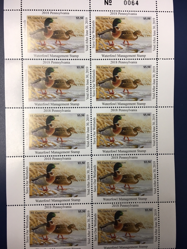 duck stamps